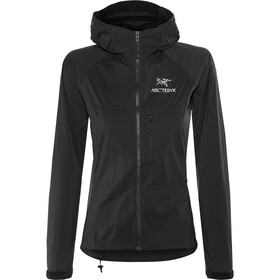 Arc'teryx Squamish Capuchon Jas Dames, black